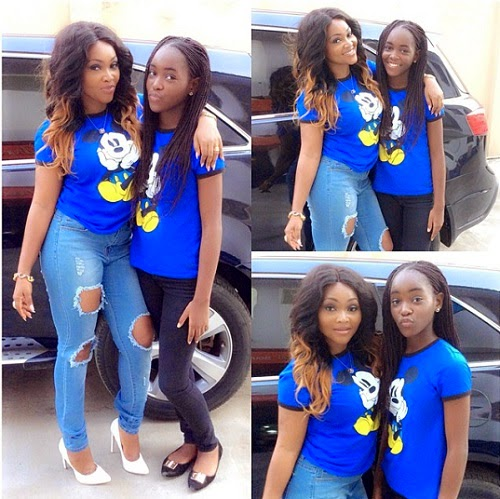 Proud Mom Mercy Aigbe Shows Off Her Super Hot Teenage Daughter Gistmania
