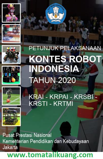 juklak kontes robot indonesia kri tahun 2020; https://www.tomatalikuang.com