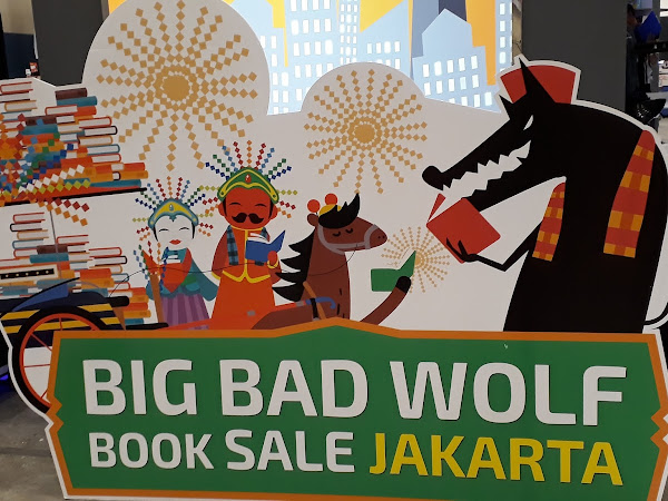Berburu Buku di Bigbad Wolf Jakarta 2017