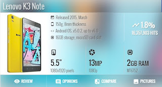 Download Firmware Lenovo K3 Note
