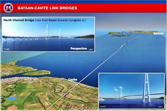 bataan-cavite long-span bridge  cavite corregidor bataan bridge  cavite bataan bridge 2018  cavite to bataan bridge project  guicam bridge  cavite bataan bridge 2019  manila bay bridge project  bataan cavite map