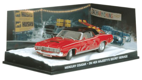 Mercury Cougar - On her majesty's secret service 1:43 colección james bond