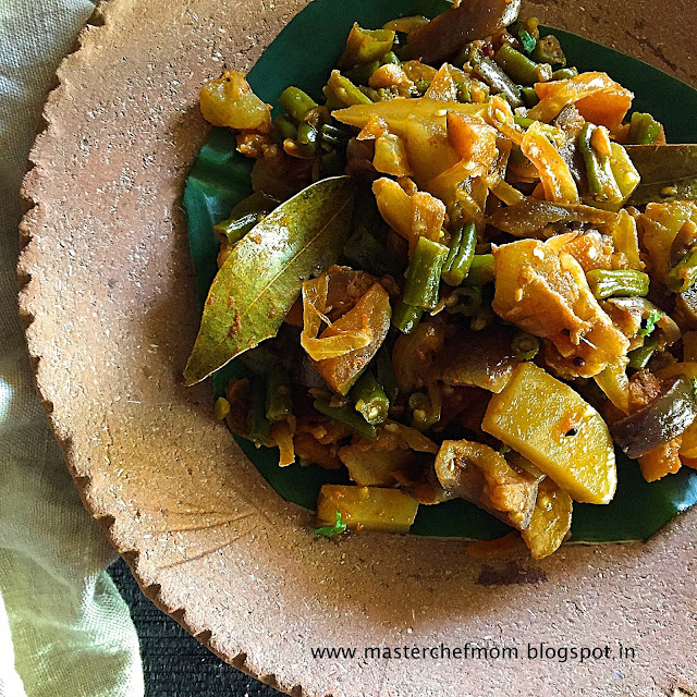 ChorChori | Bengali Style Mixed Vegetable Medley