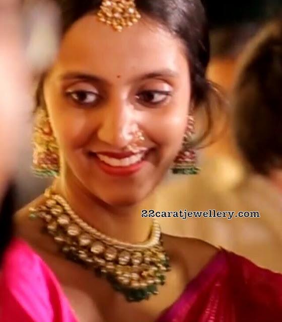 Lakshmi Pranathi Polki Choker