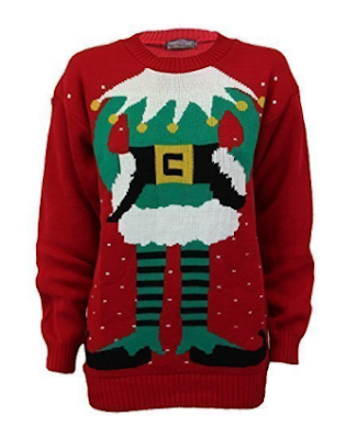 Novelty Christmas Elf Jumper