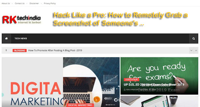 Hack Like a Pro: How to Remotely Grab a Screenshot of Someone's