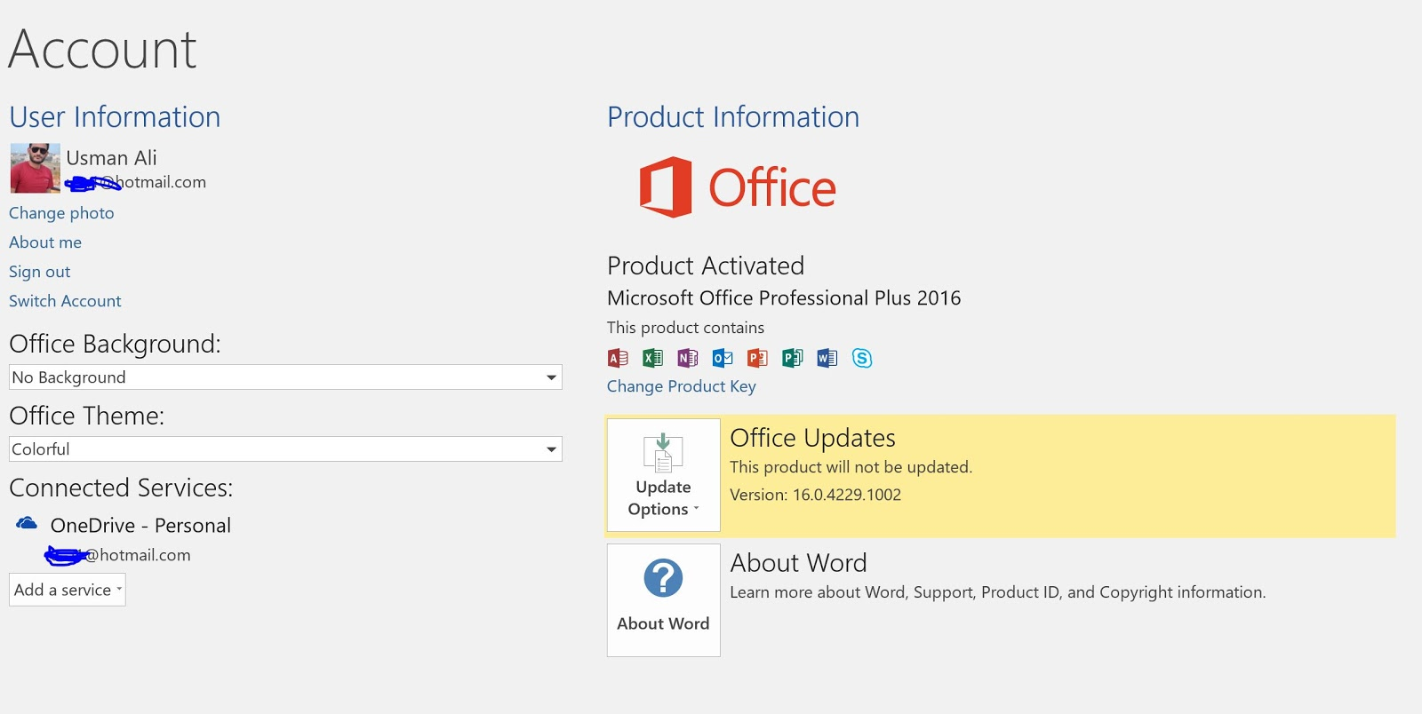 activate office 2016 for free