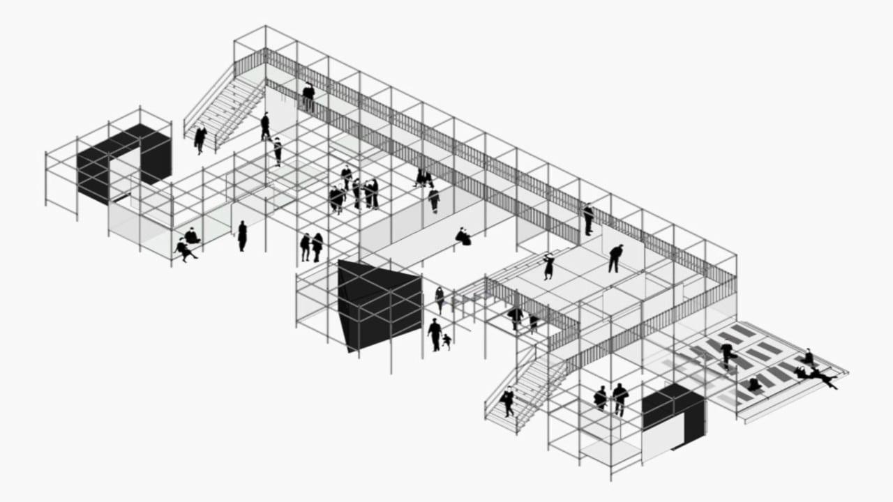 arquitectura efímera maquetas