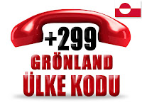 +299 Grönland ülke telefon kodu