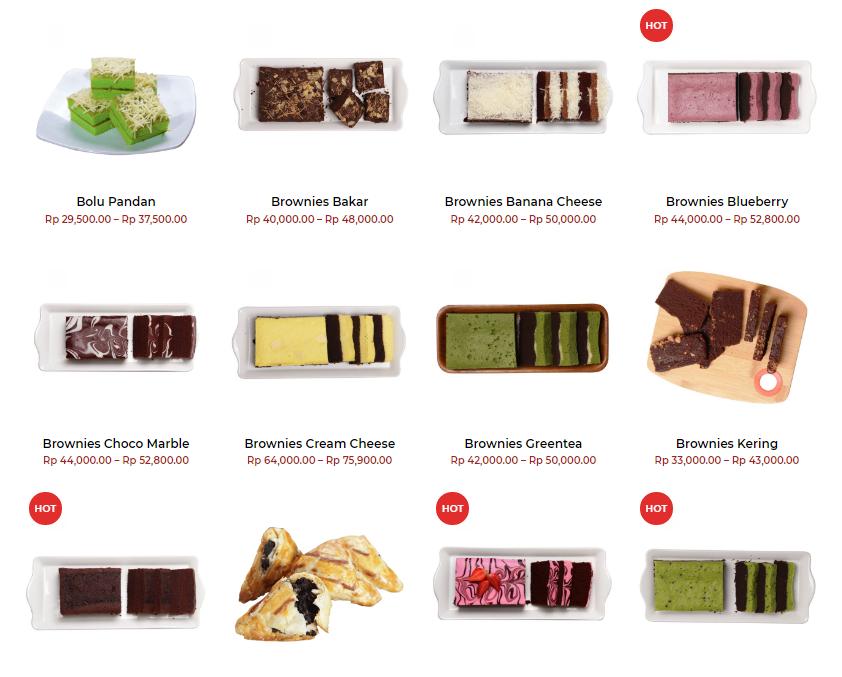 Brownies Amanda Ciptarasa Oleh-Oleh Khas Bandung