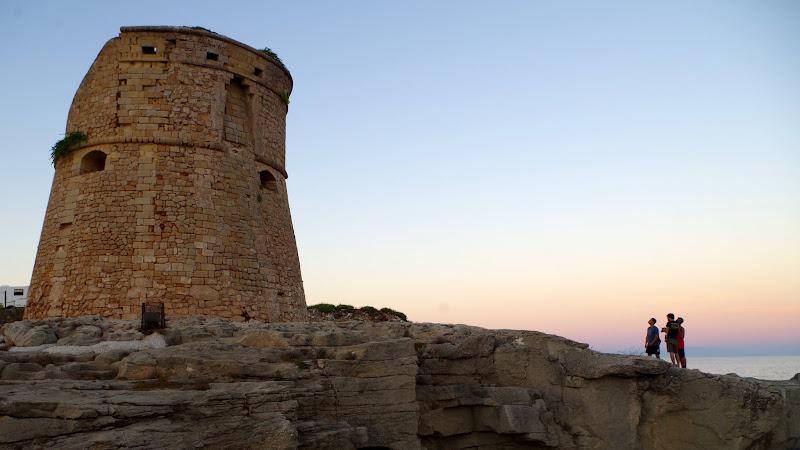 Torre di Porto Miggiano in Santa Cesarea Terme (Apulien)