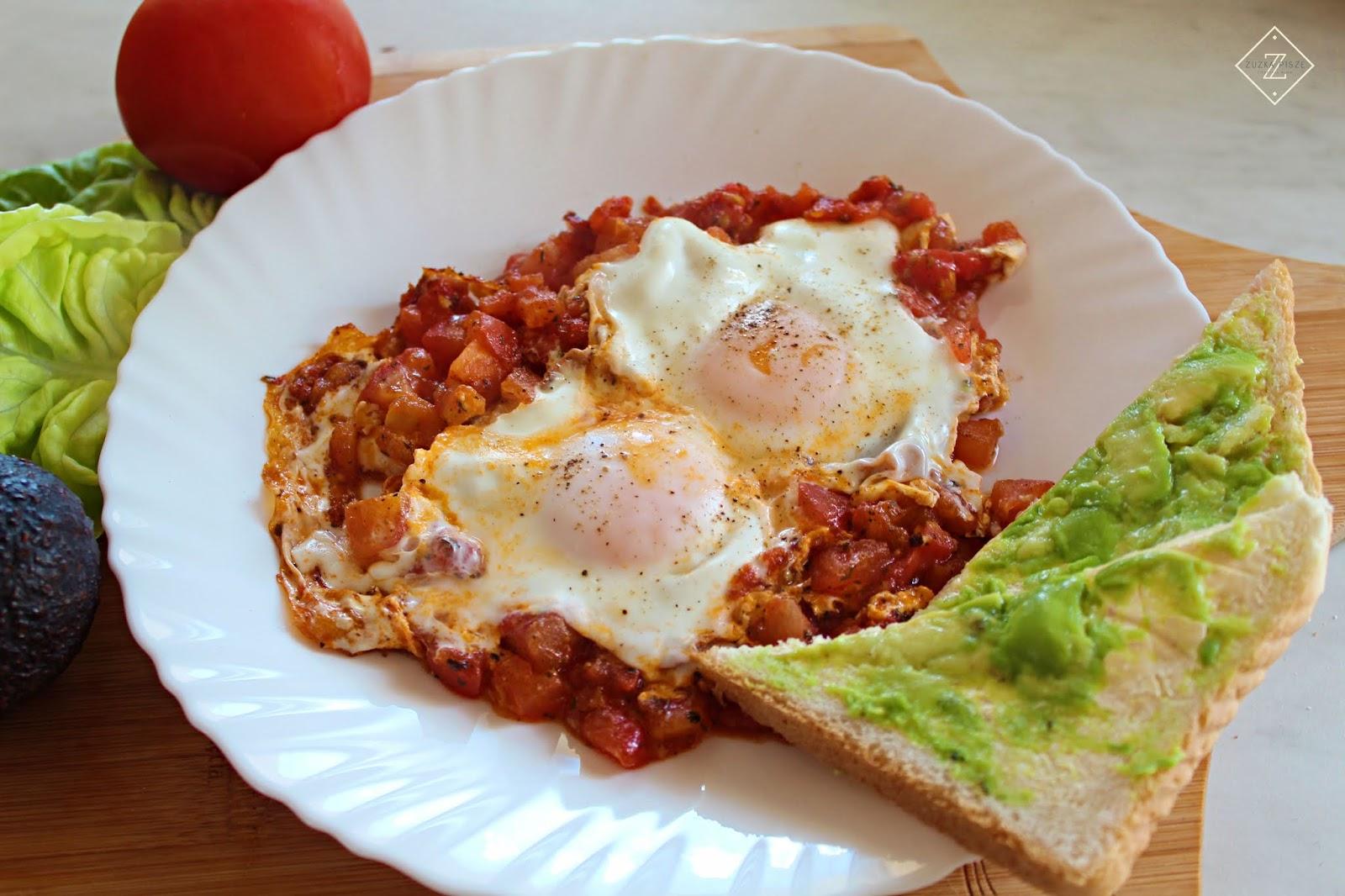 Szakszuka - pyszne i zdrowe śniadanie - przepis