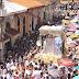 Multitudinaria procesión de la Virgen de Mercedes en la ciudad de León 24 de septiembre 2016.