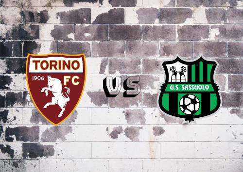 Torino vs Sassuolo  Resumen