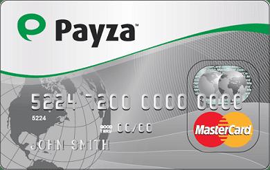 Tarjeta de Payza