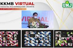 """Menko Perekonomian """"Airlangga"""" Bekali 3000 Mahasiswa Baru  UMJ  dengan Enterpreneur"""