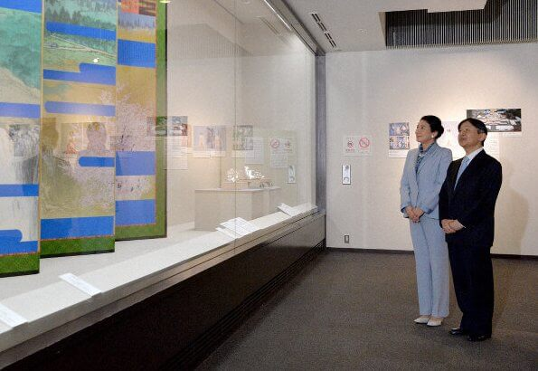 Naruhito and Masako visited the special exhibition Entering the New Reign of Reiwa Era at the Museum of the Imperial Collections