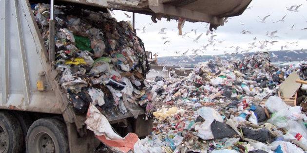bãi xử lý rác thải xây dựng