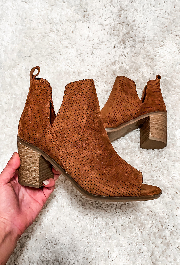 Open Toe Booties to Wear Now and Into Fall - Chasing Cinderella