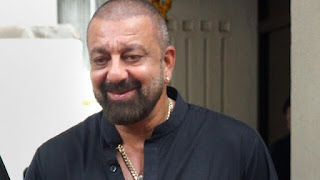 Sanjay Dutt back in Mumbai and told media to I am not sick now