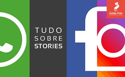 Stories de instagram e facebook