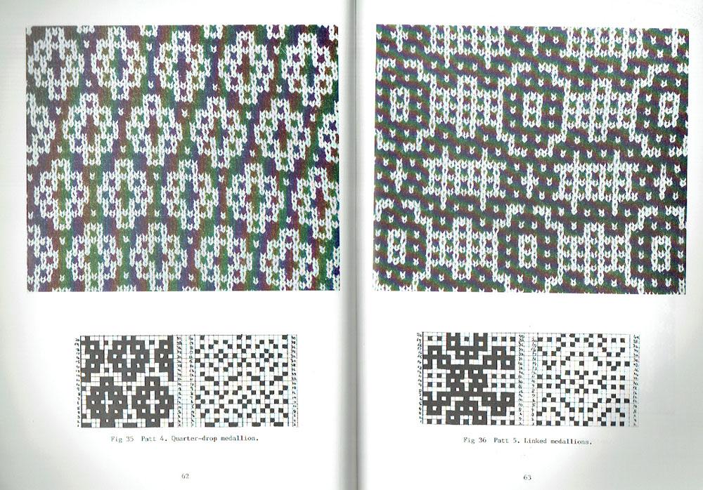 Tamoui: Mosaic Floatless Fair-Isle (20 and 40 stitch) Kathleen Kinder