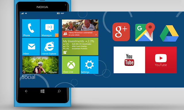 ¿Google desarrollará apps oficiales para Windows Phone?