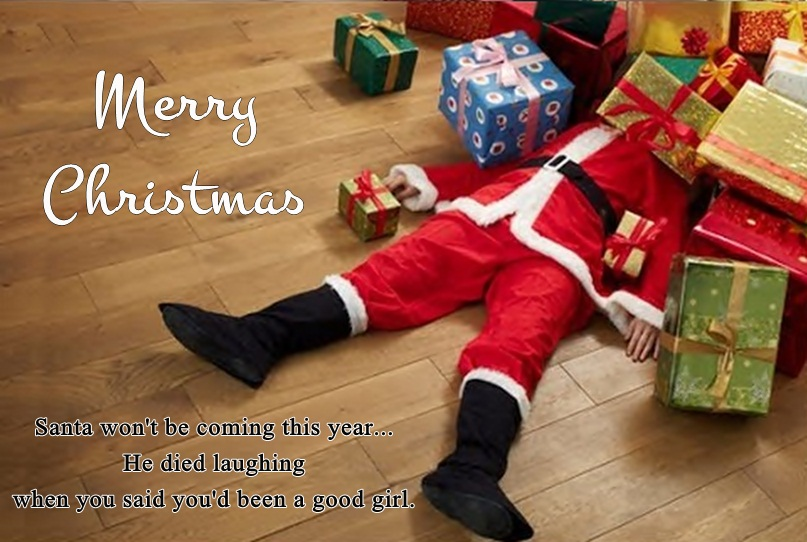 Cute Funny Xmas Greeting