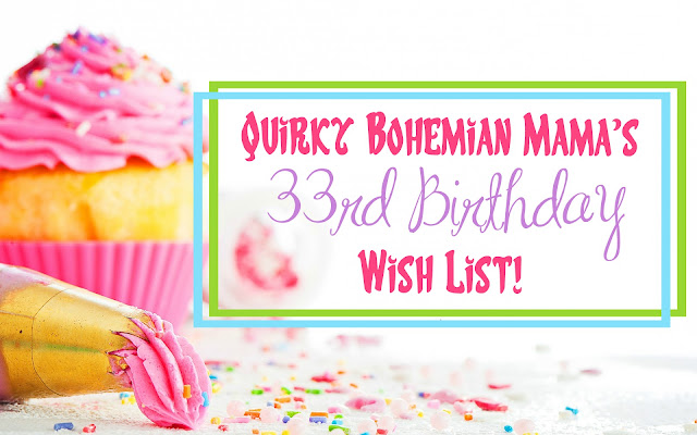 Quirky Bohemian Mama's Amazon Picks. Bohemian birthday gifts. Gifts for bohemians.