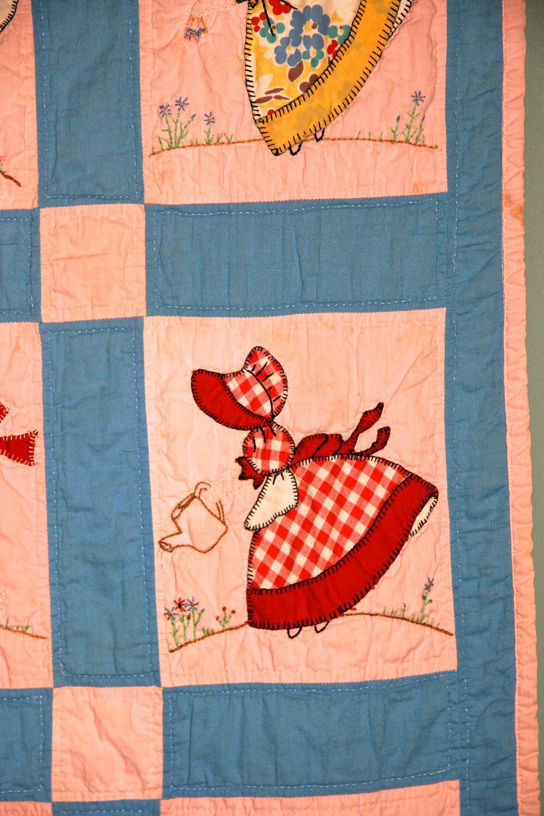 Sunbonnet Sue Quilt Patterns Vintage Quilt