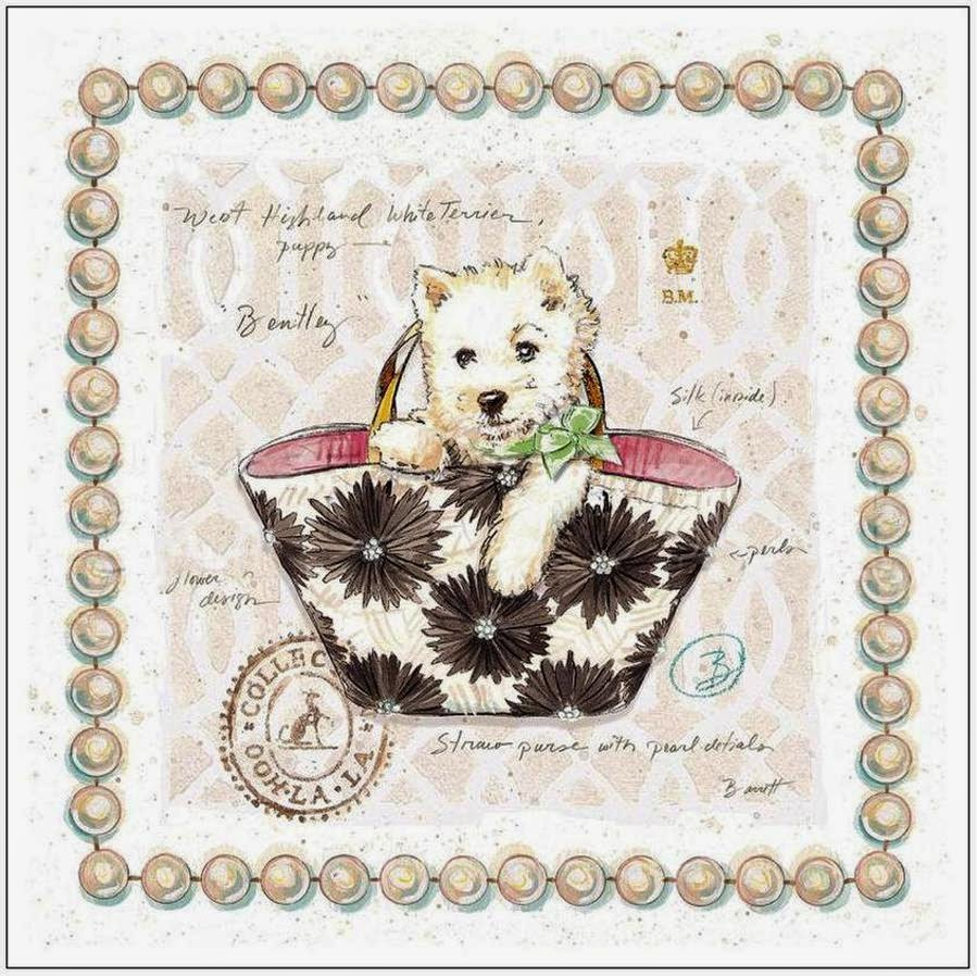 Doggie Couture Vintage Free Printables.