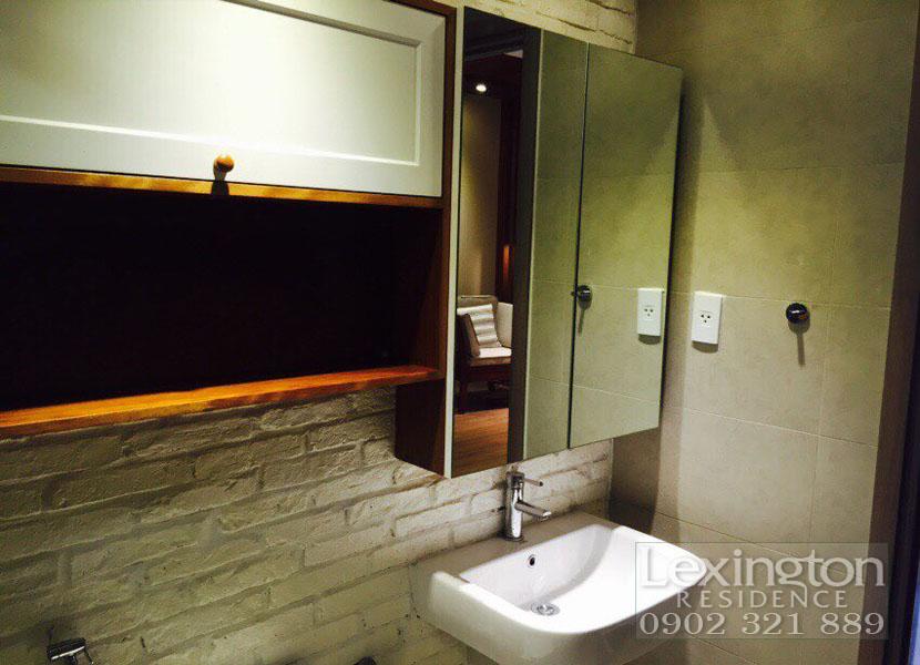 dự án lexington cho thuê căn hộ 1 phòng ngủ - phòng vệ sinh