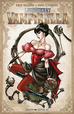 Legenderry tome 4 Vampirella aux editions Graph Zeppelin
