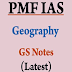 Hand Written Geography Notes For IAS pdf Download in English