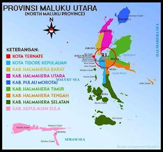 Kota-kota di Maluku Utara