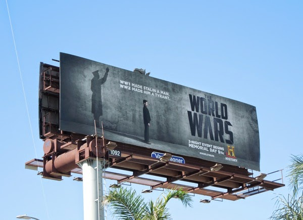 Stalin World Wars History billboard