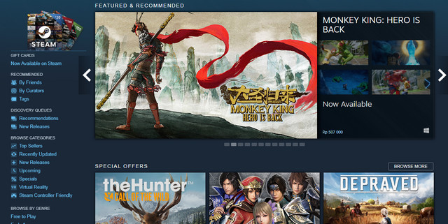 Steam Distribusi Game Digital