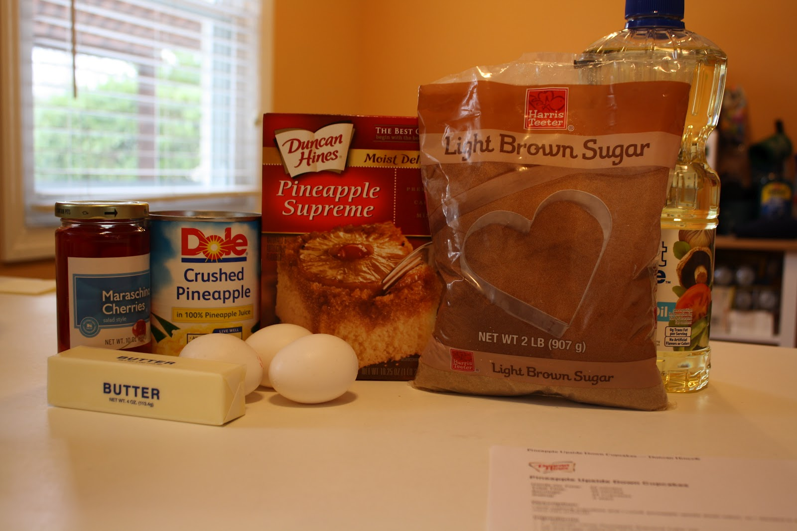Ings 1 Duncan Hines Pineapple Supreme Cake Mix Oil And Eggs Amount Called For On Box Juice In Place Of Water Use