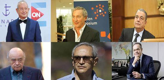 6 مصريين ضمن قائمة فوربس لأغنياء العرب في 2020