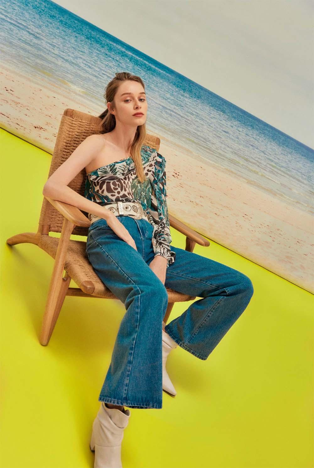 Moda primavera verano 2021 │ Pantalones de jean mujer capri cropped primavera verano 2021.