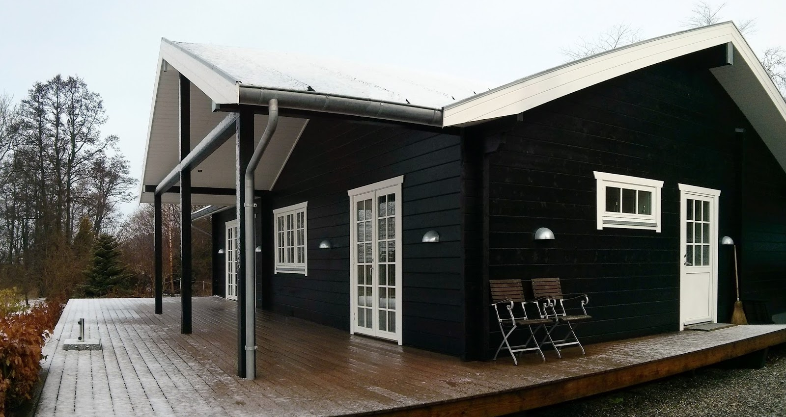 Blockhaus Holzhaus in Dänemark
