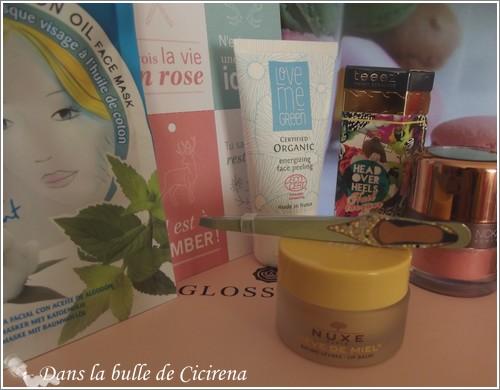 GlossyBox, revue, novembre 2014, blog beauté