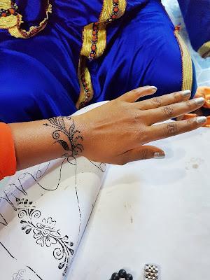 henna art, body art