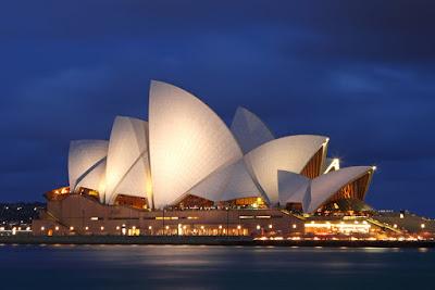 Sydney Opera House, Australia karya Jorn Utzon