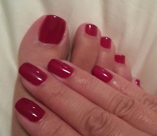 Matching toe and fingernails