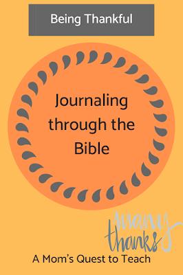 Journaling Through the Bible