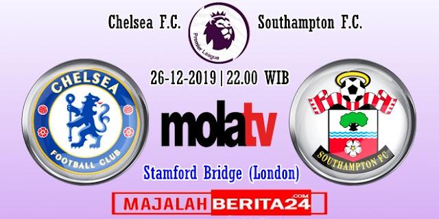 Prediksi Chelsea vs Southampton — 26 Desember 2019