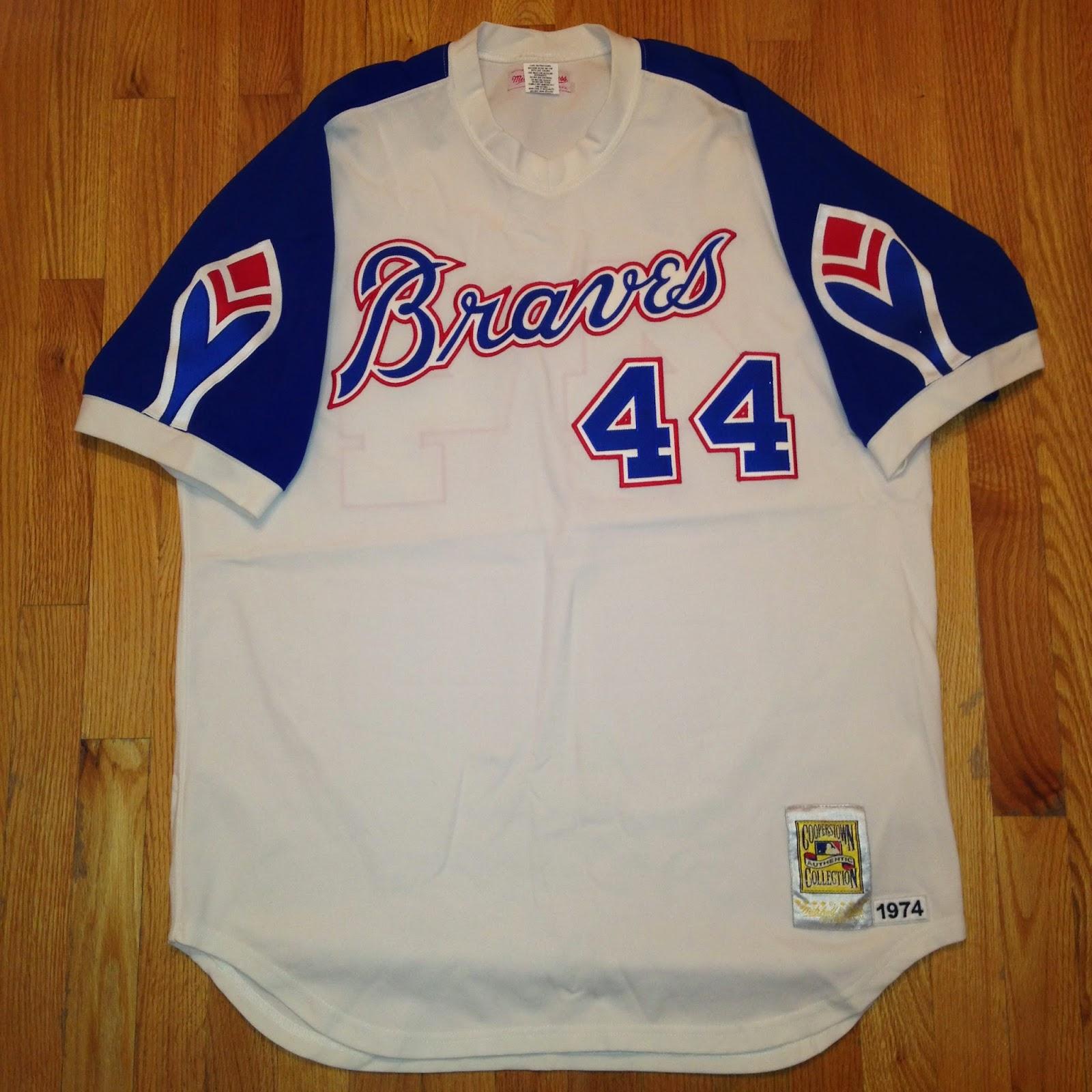 newest a6489 f8a89 Virgil's Blog: Atlanta Braves x Hank Aaron [1974]