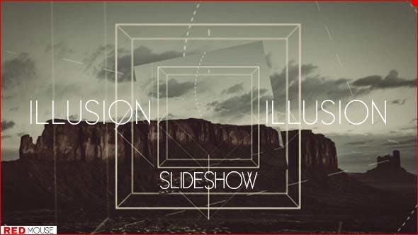 Illusion slideshow : After Effects Template