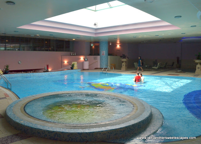 Al Raha Beach Hotel indoor pool